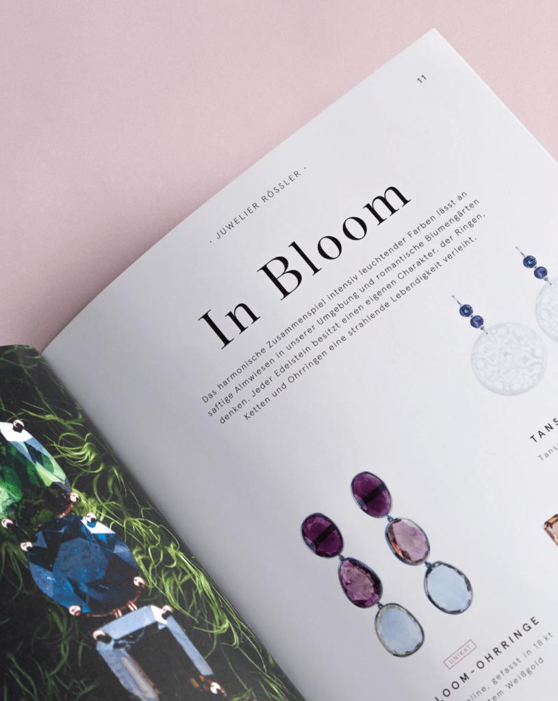 Roessler Naturschoenheiten Katalog Editorial Design