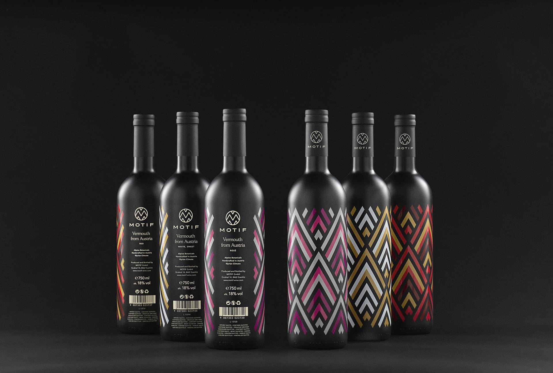 Motif Wein Branding
