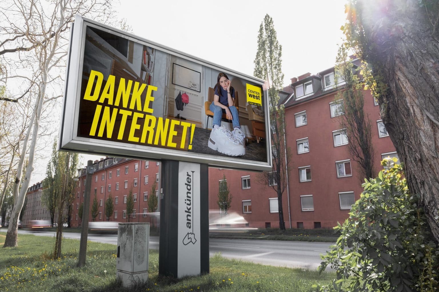 Center West Danke Internet 24 Bogen