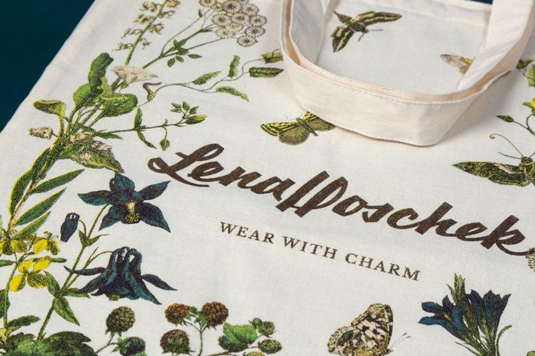 Lena Hoschek Wintergarden Tote Bag