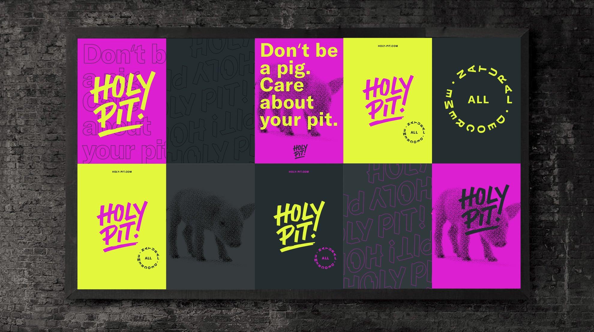 HolyPit! Branding Poster