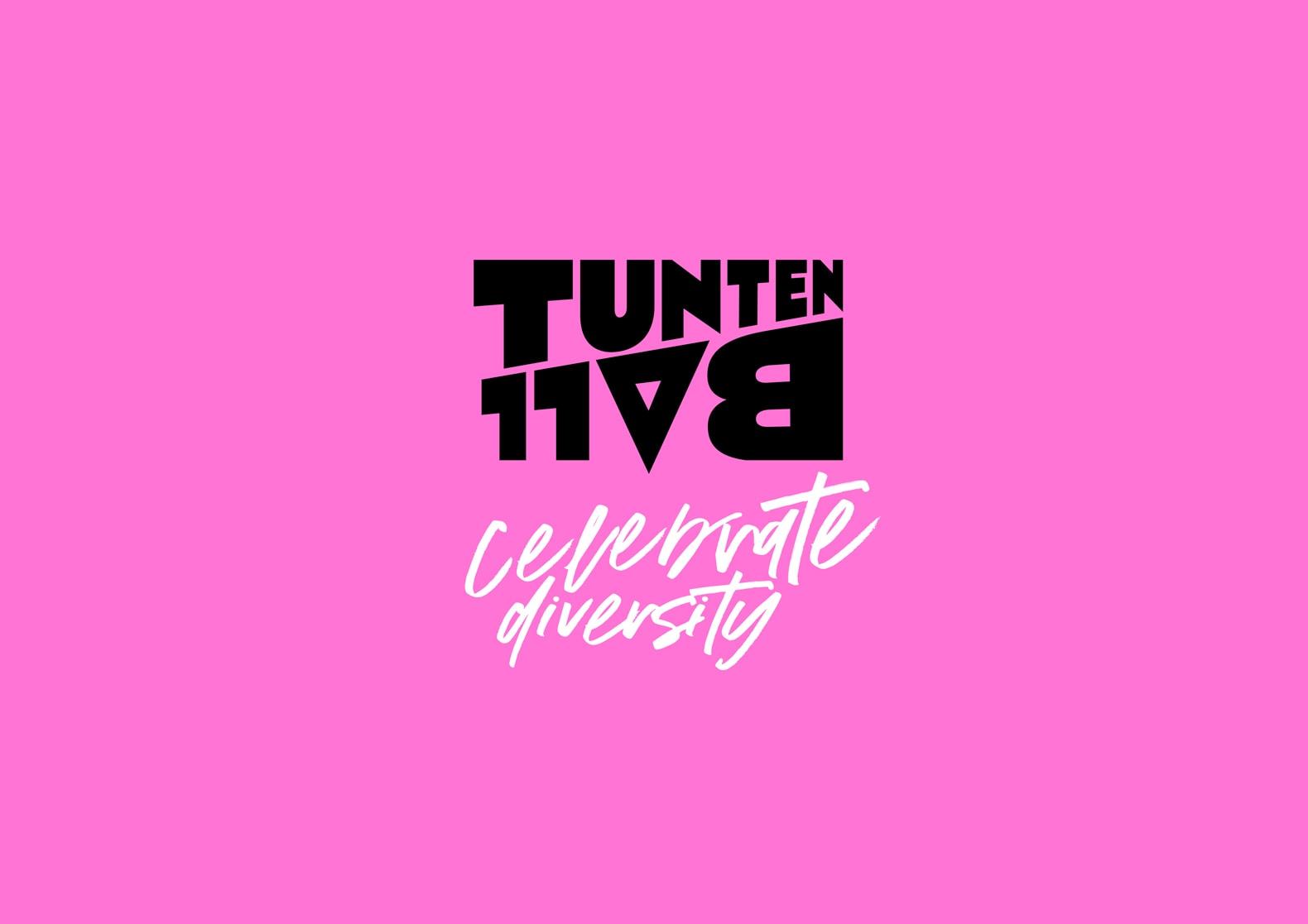 Tuntenball Celebrating Diversity Branding