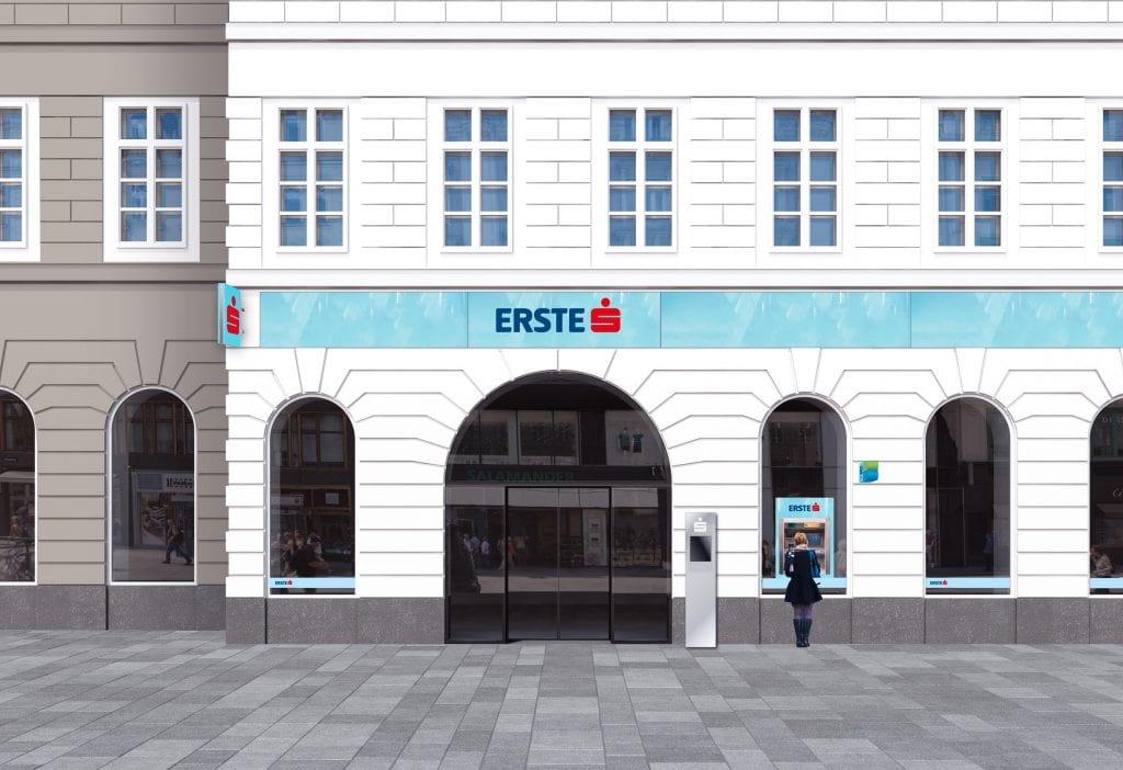 Erste Group Bank AG Branding Filiale
