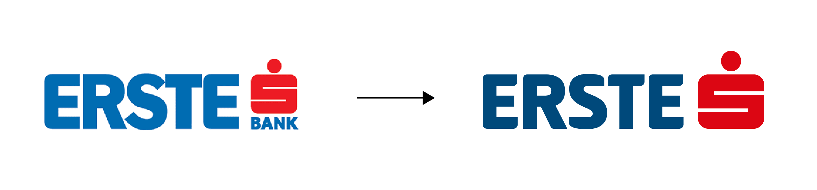 Erste Group Bank AG Logo Transformation