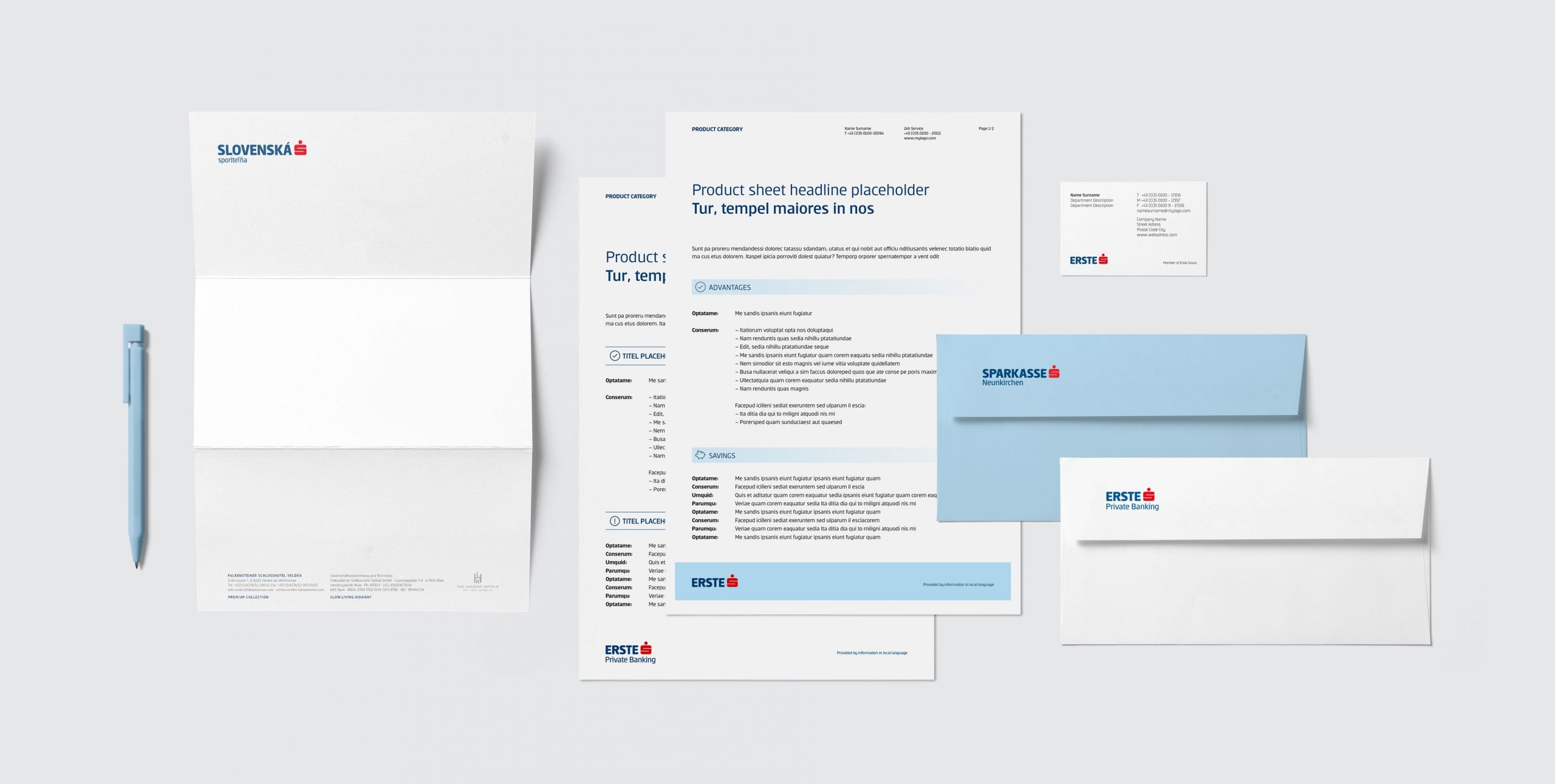 Erste Group Bank AG Stationary