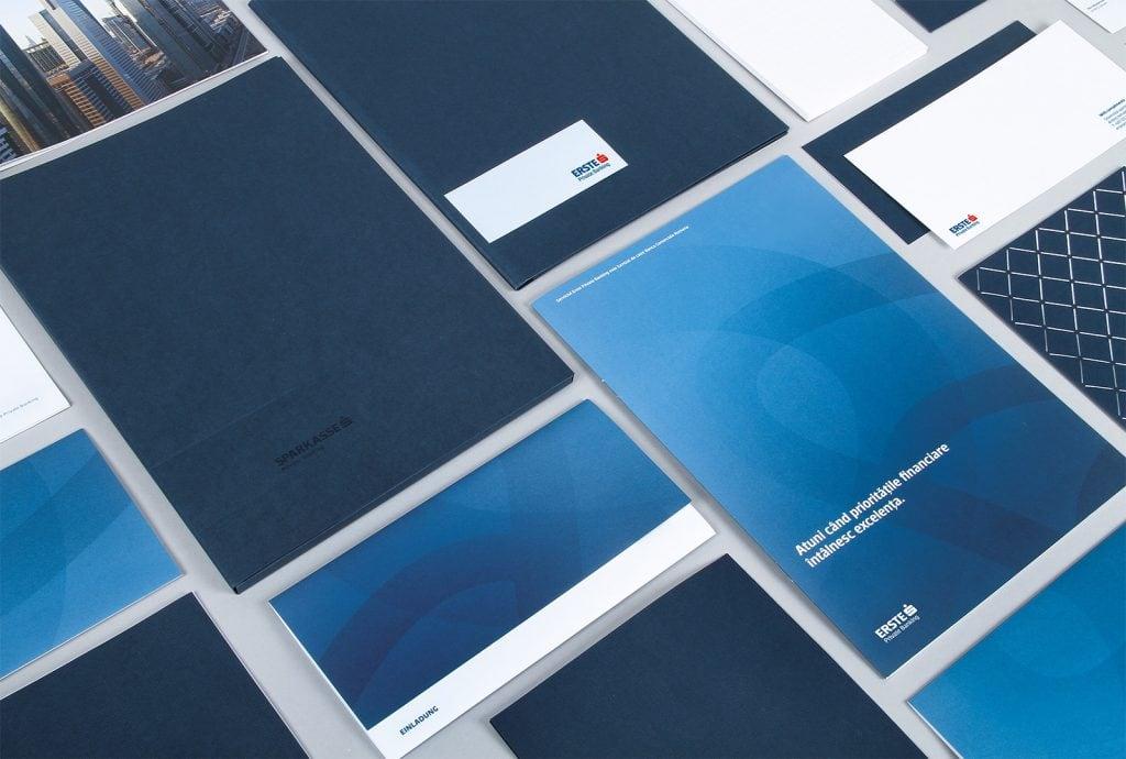 Erste Group Bank AG Branding Stationary