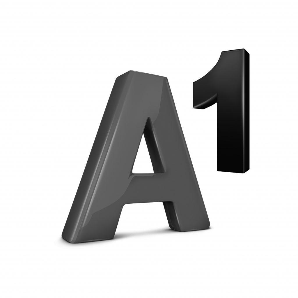 A1 Logo Schwarz Weiss