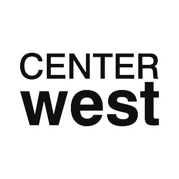 Center West Logo Schwarz Weiss