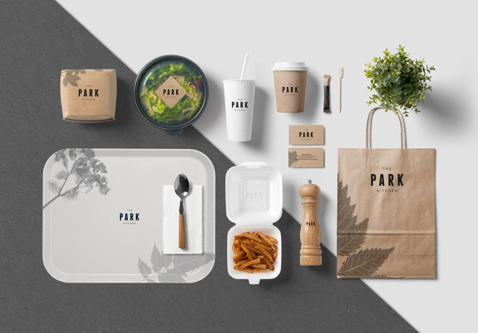 Erste Campus The Park Kitchen Branding