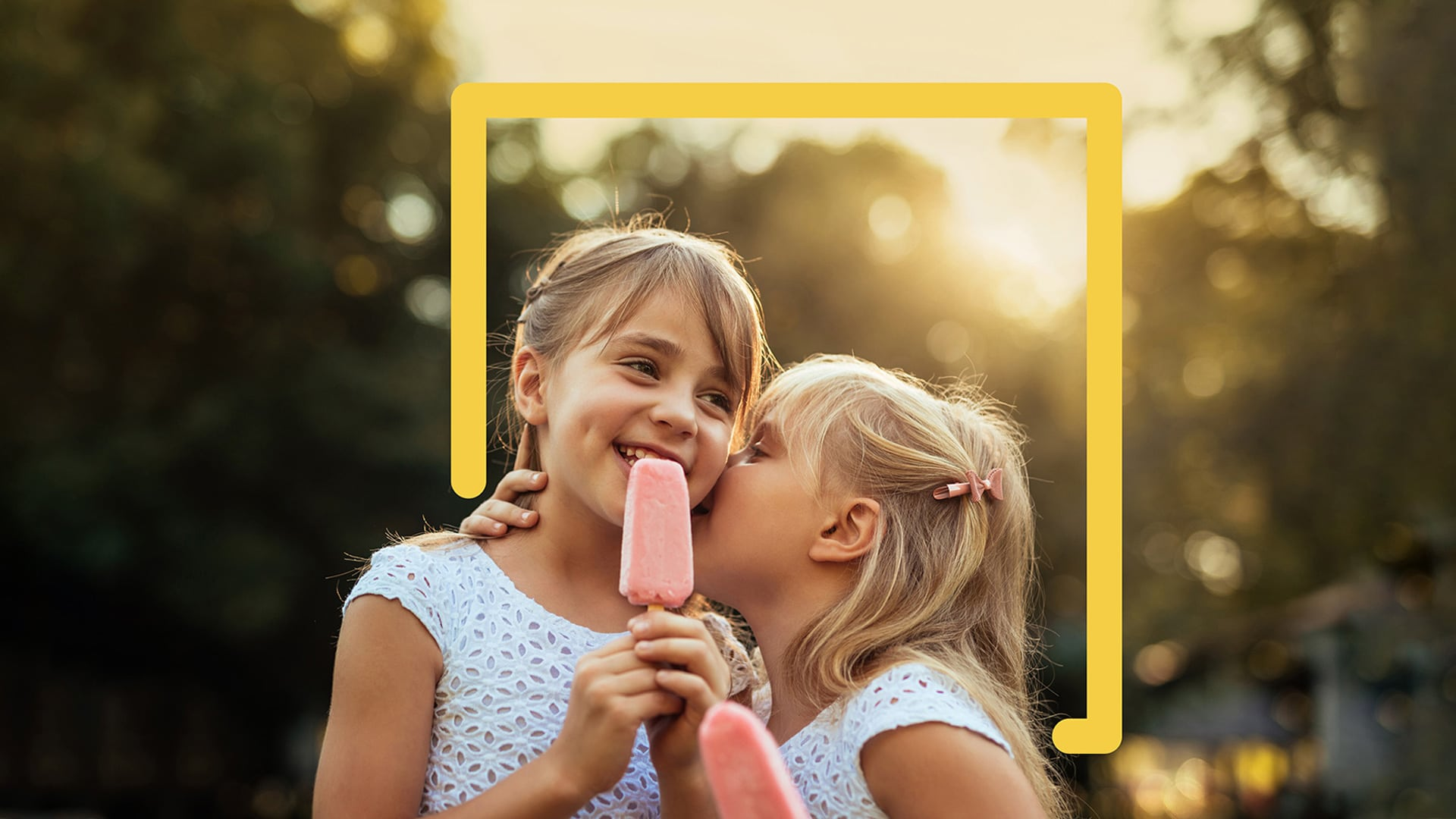 JUFA Hotels Happy together Mädchen Eis
