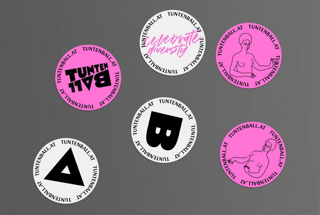 Tuntenball Branding