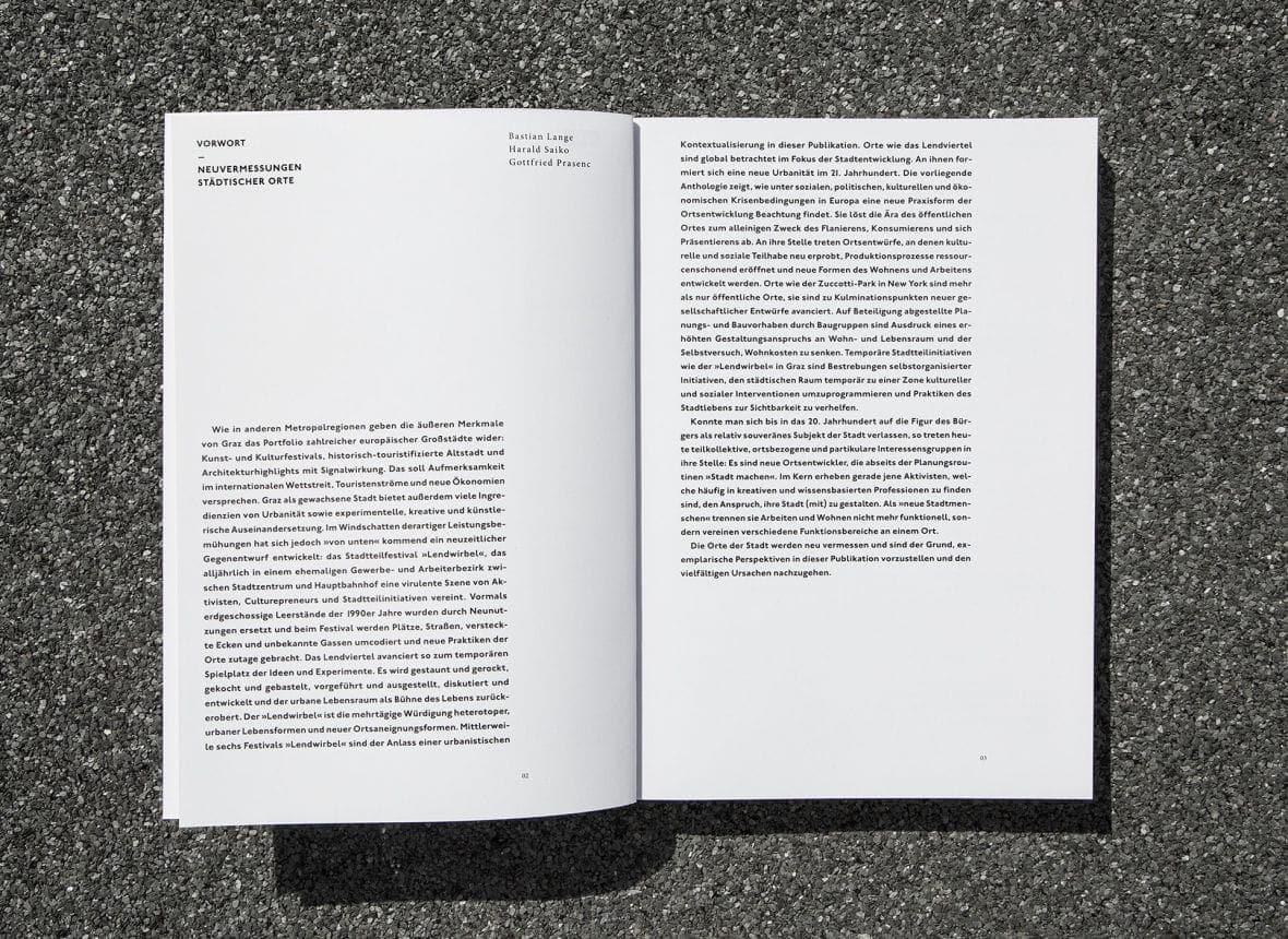 Ortsentwuerfe Buchgestaltung