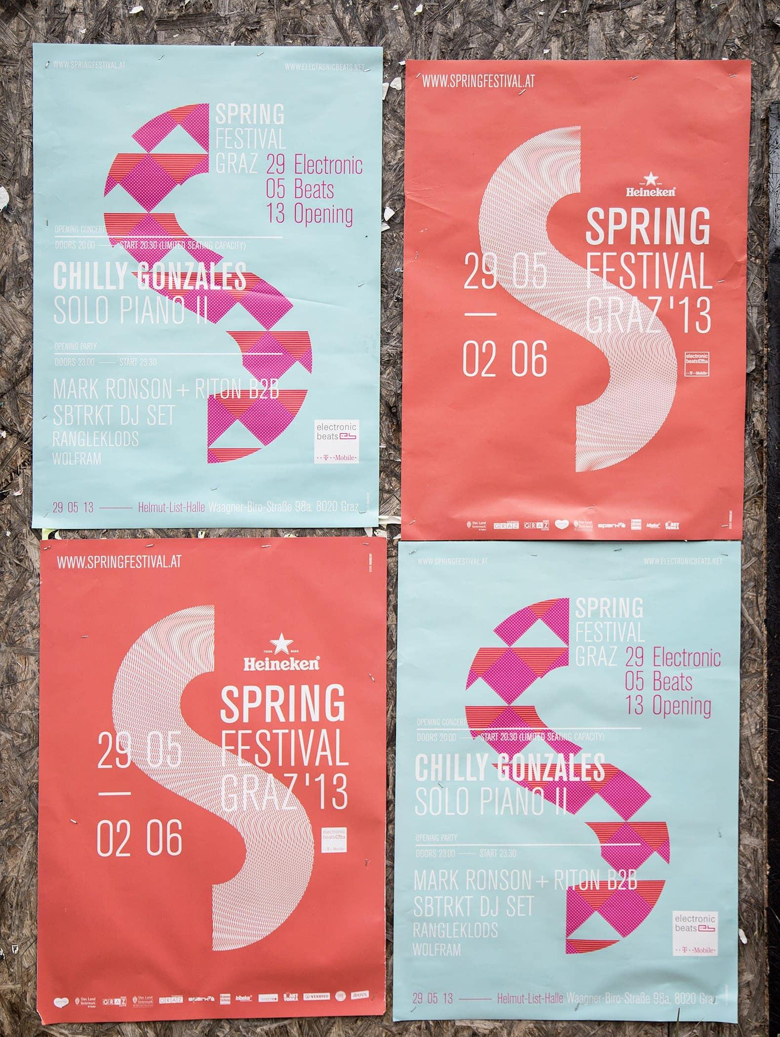 Spring Festival Graz Branding